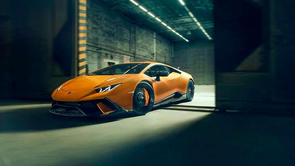 Тюнингованная Lamborghini Huracan Performante от Novitec