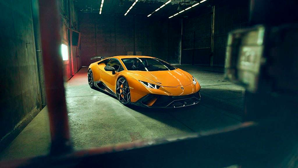 Lamborghini Huracan Performante от Novitec