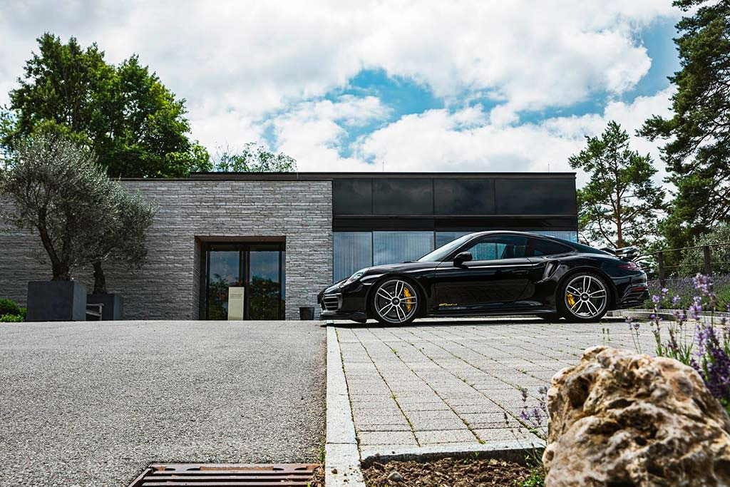 Тюнинг Porsche 911 Turbo S GTsport от TechArt