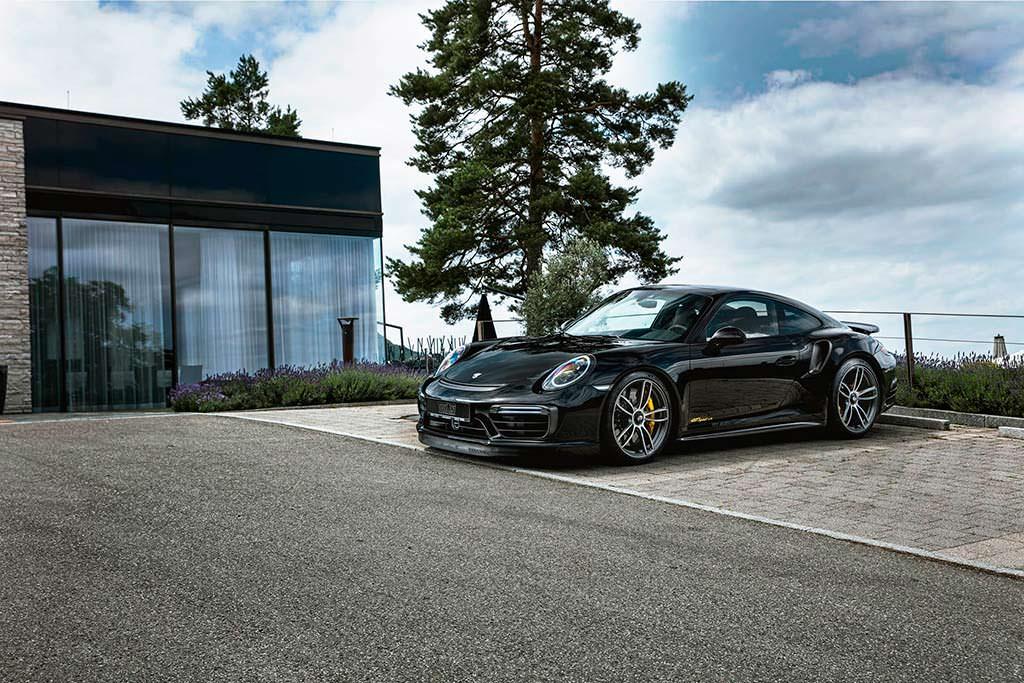Porsche 911 Turbo S GTsport. Тюнинг от TechArt