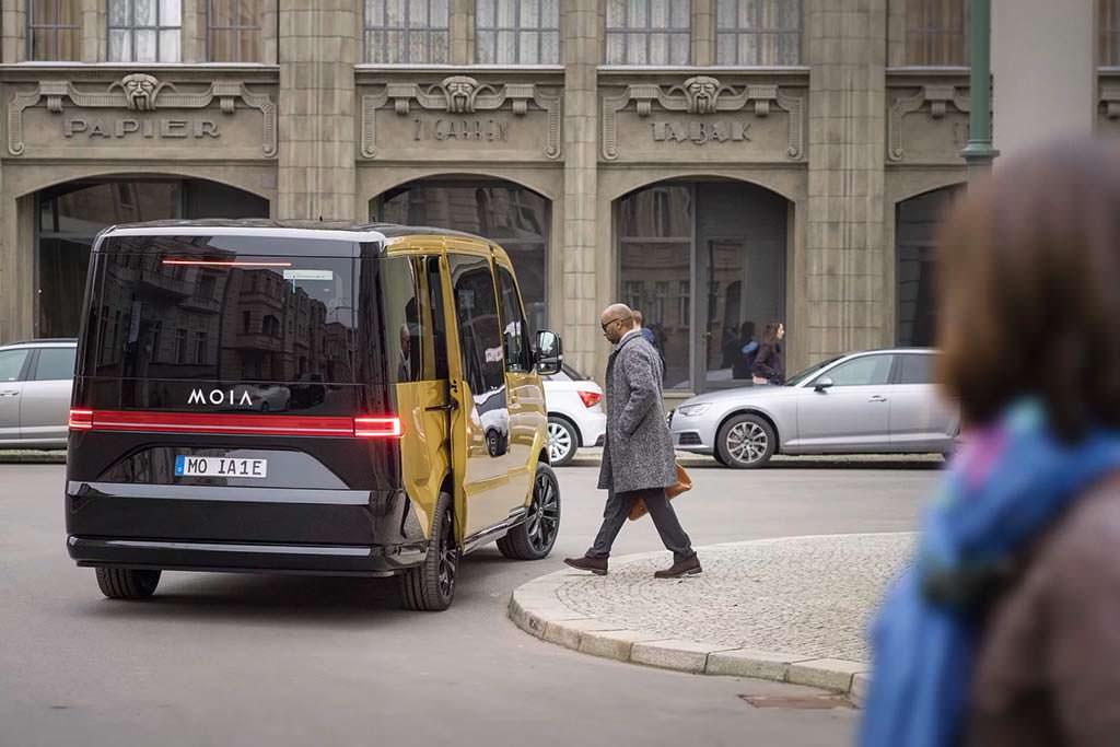 Volkswagen Moia Mobility Unit ответ Uber