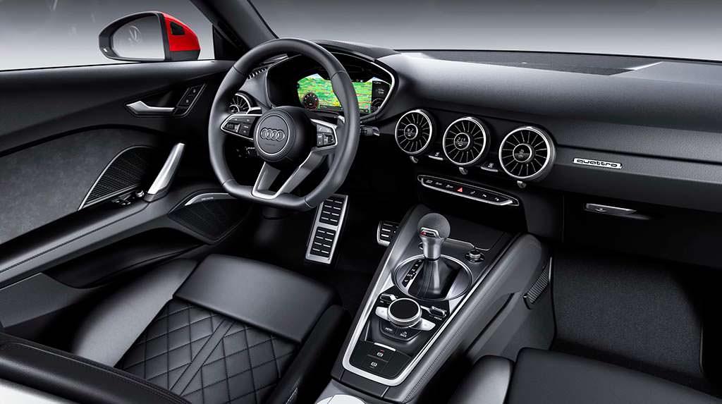Салон Audi TT Coupe 2019
