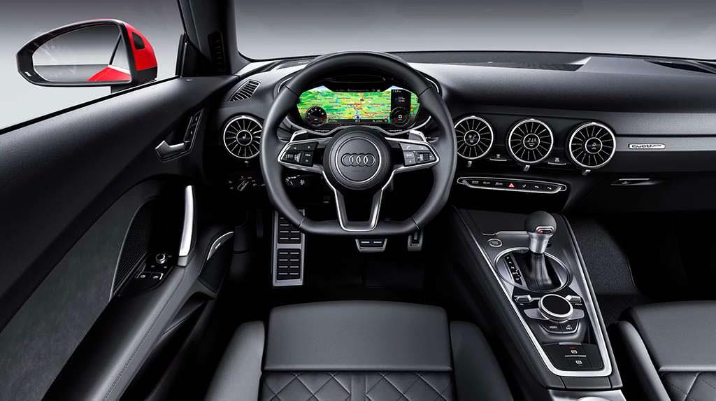 Фото внутри Audi TT Coupe 2019