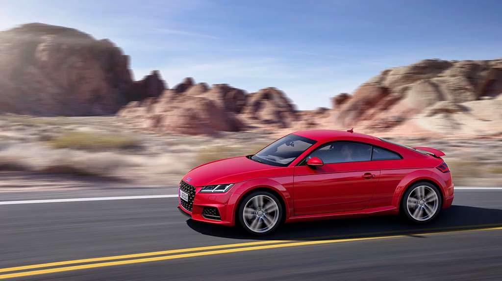 Рестайлинг Audi TT Coupe 2019