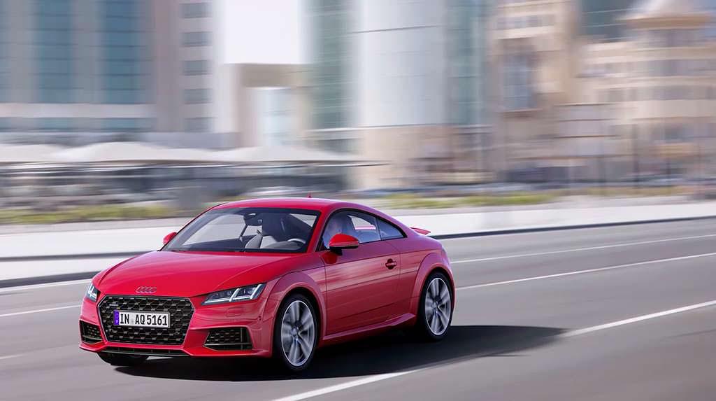 Audi TT Coupe 2019 модельного года