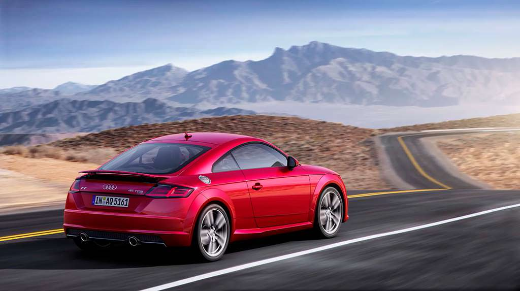 Новая Audi TT Coupe
