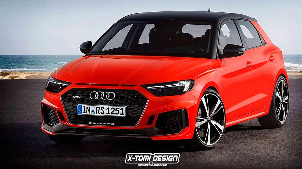Хот-хэтч Audi RS1 Sportback от X-Tomi Design