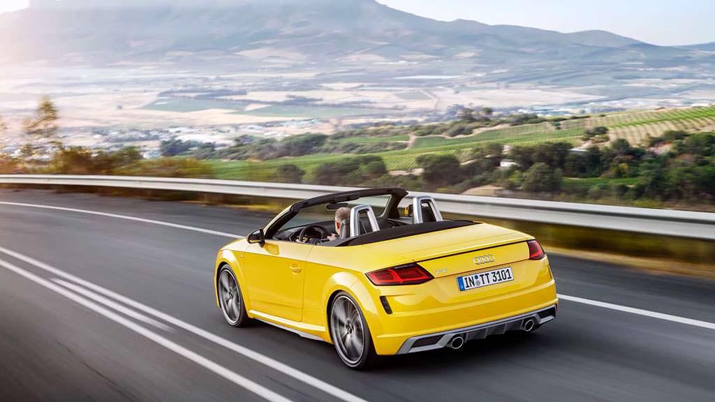 Audi TT Roadster 2019 модельного года