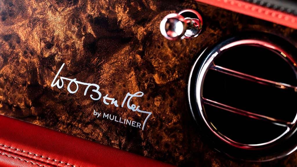 Декор Bentley Mulsanne W.O. Edition by Mulliner