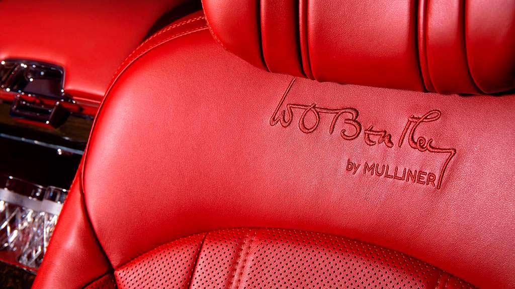 Отделка сидений Bentley Mulsanne W.O. Edition by Mulliner