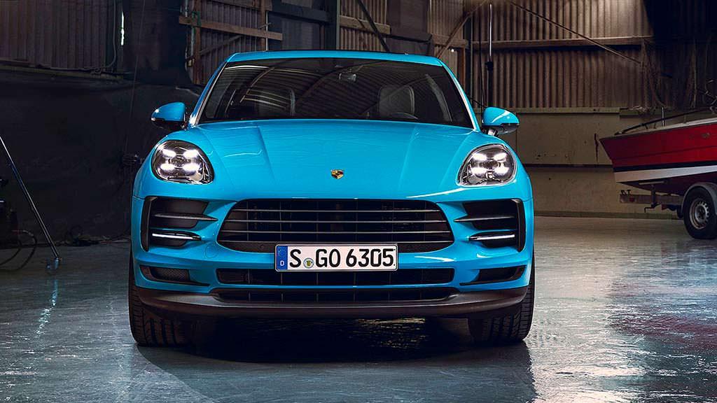 Новый Porsche Macan 2019