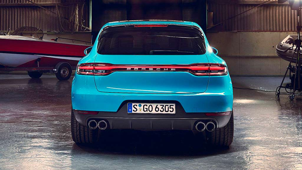 Рестайлинг Porsche Macan 2019