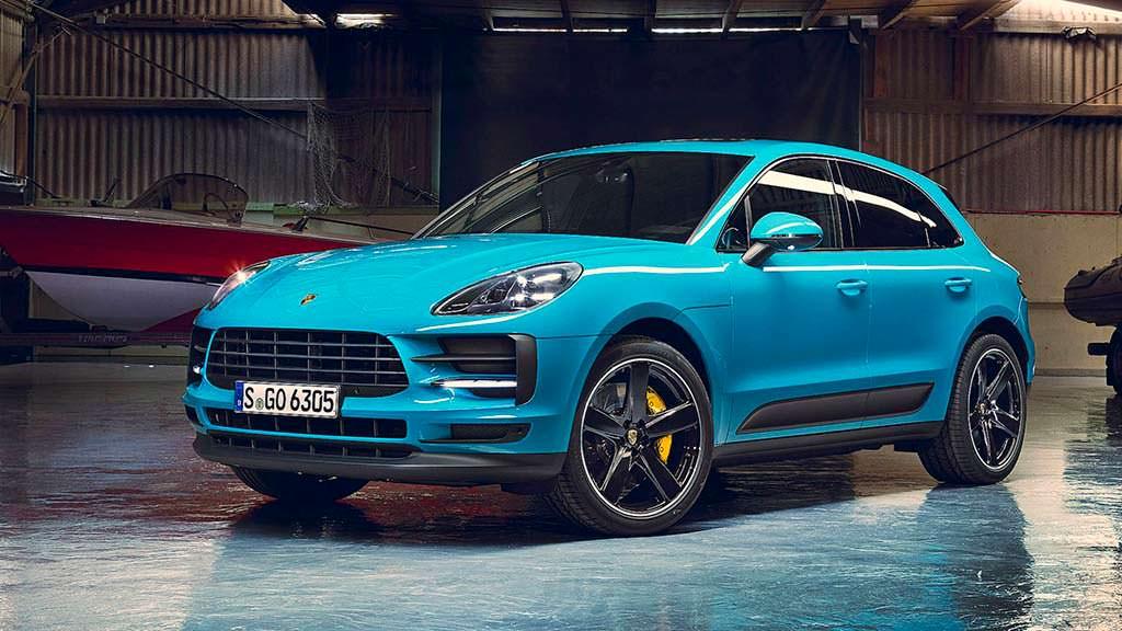 Porsche Macan Miami Blue