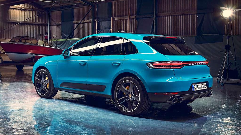 Кроссовер Porsche Macan 2019