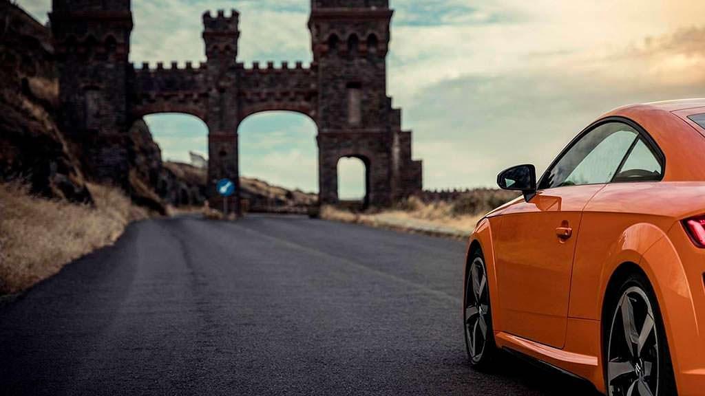 Тизер Audi TT 2019 рестайлинг