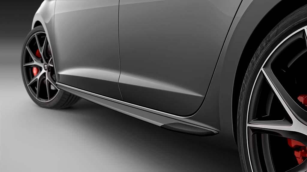 Боковые пороги SEAT Leon ST Cupra Carbon Edition