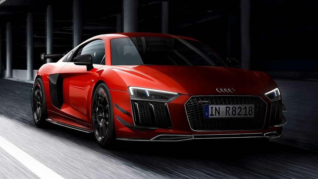 Audi R8 V10 Plus для автоспорта от Audi Sport