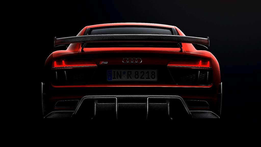 Суперкар Audi R8 V10 Plus для автоспорта от Audi Sport