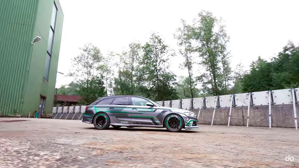 Супергибрид Audi RS6-E от ABT Sportsline