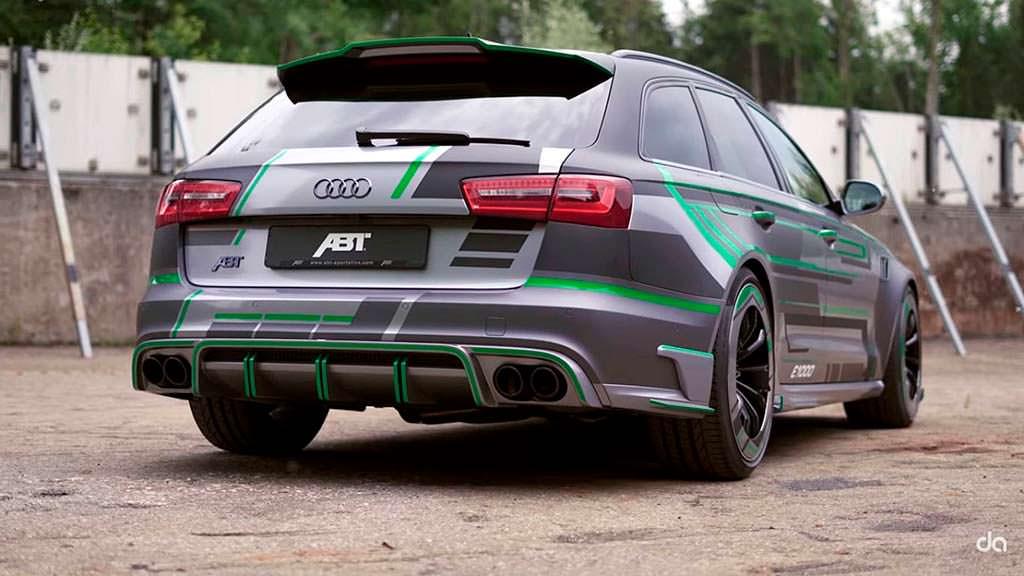 Тюнинг Audi RS6-E от ABT Sportsline. Мощность 1018 л.с.