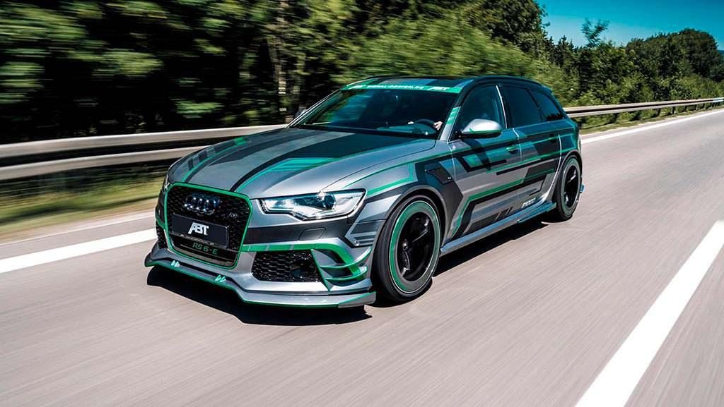 Гибридный тюнинг Audi RS6-E от ABT Sportsline