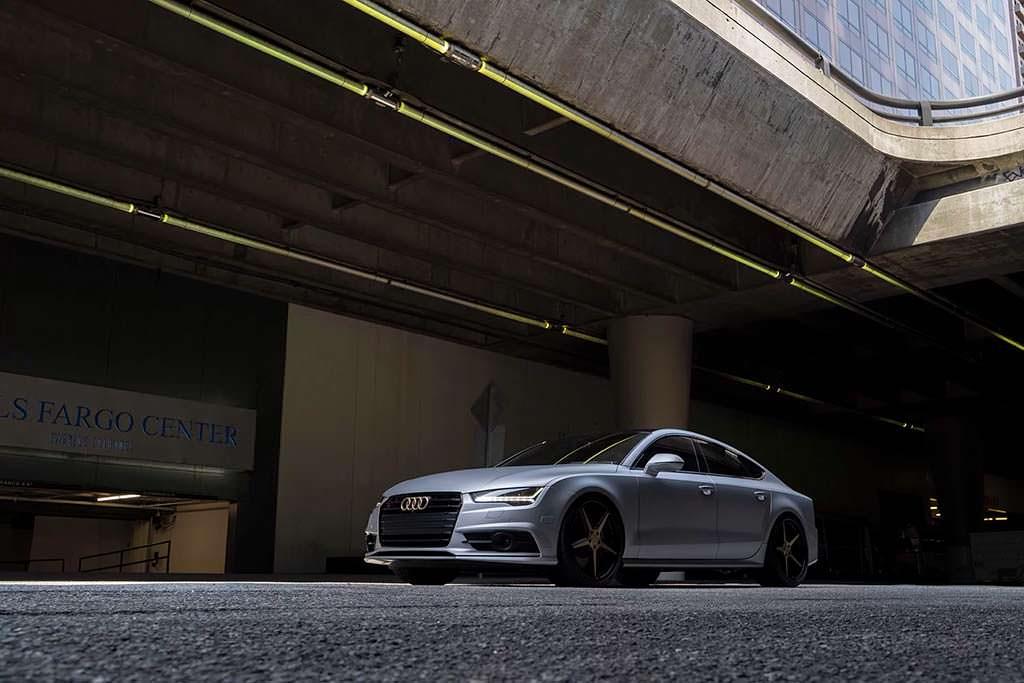 Элегантный тюнинг Audi S7 с дисками от Forgiato