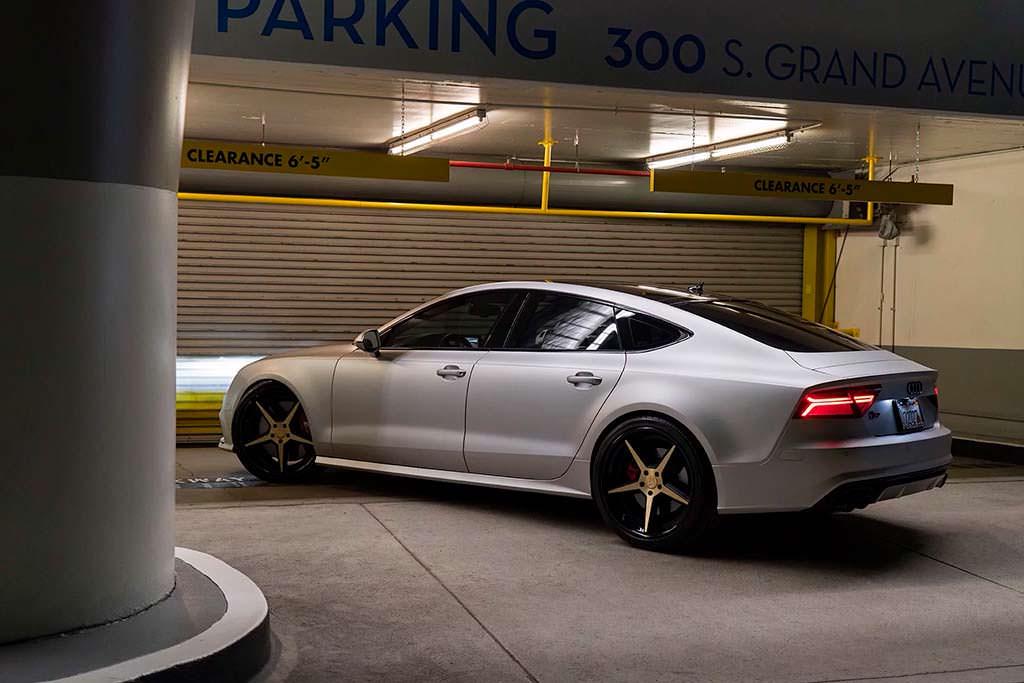 Audi S7 на 21-дюймовых дисках Forgiato Tec 3.8
