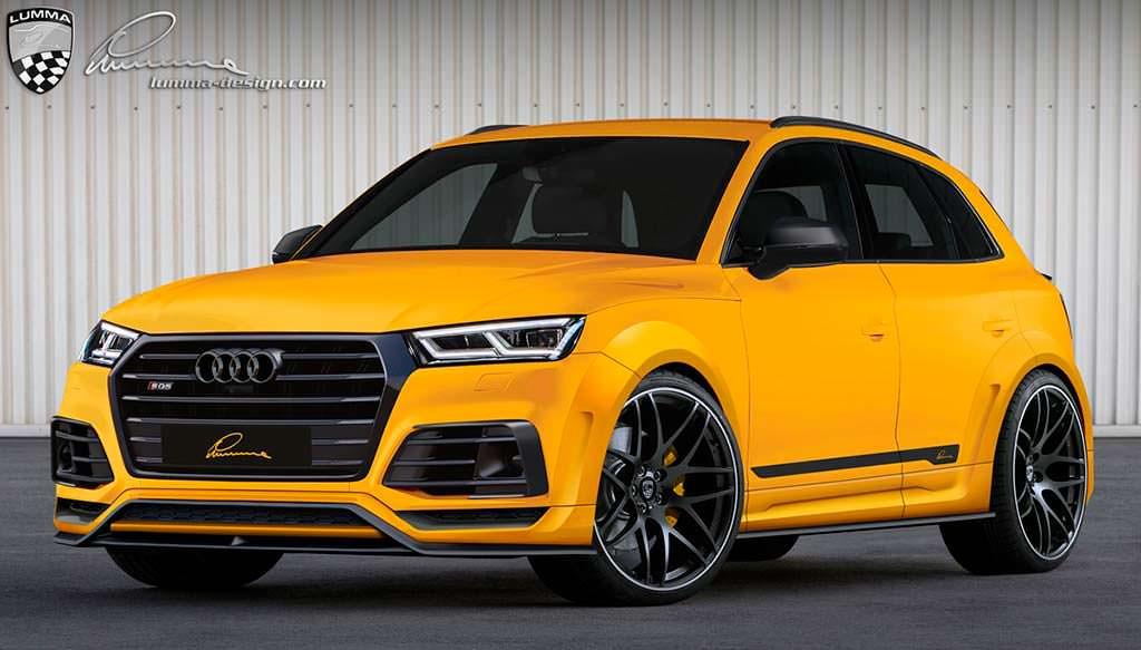 Тюнинг Audi SQ5 в широком обвесе Lumma CLR 5S