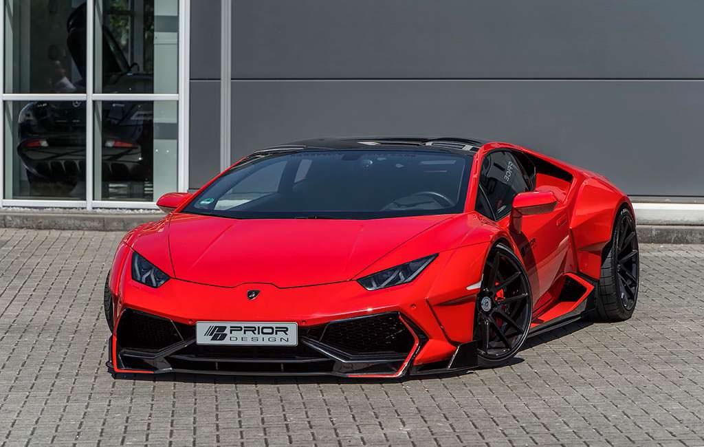 Тюнинг Lamborghini Huracan. Обвес PDLP610WB от Prior Design