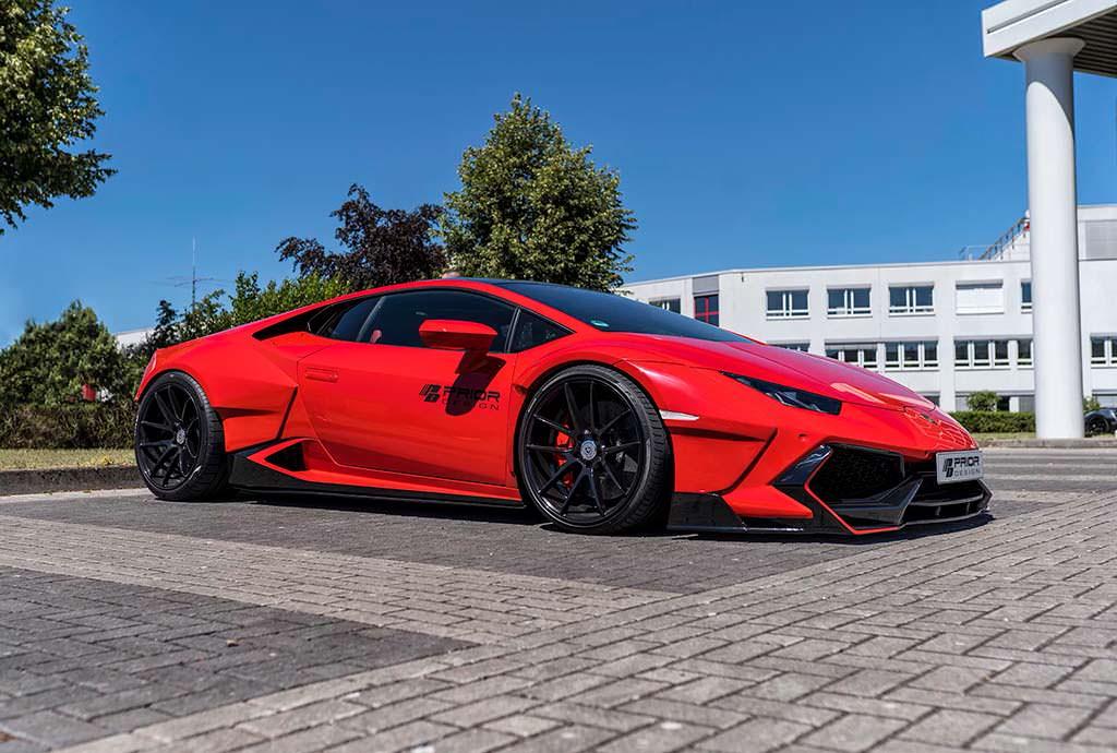 Lamborghini Huracan в обвесе PDLP610WB от Prior Design