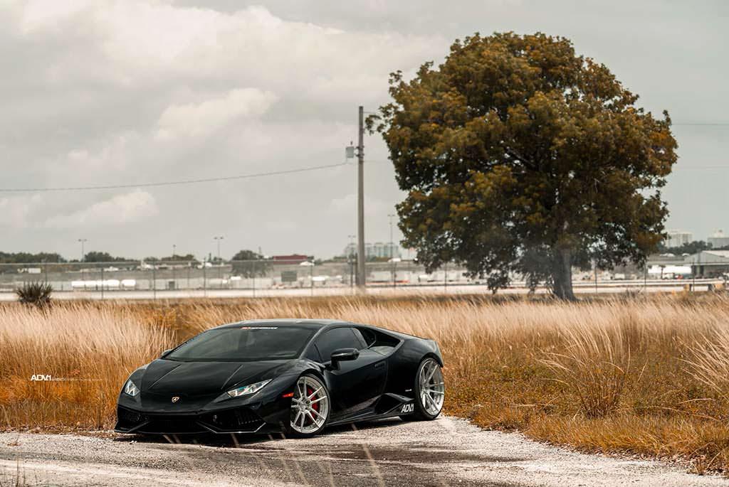 Lamborghini Huracan на дисках ADV.1 Wheels