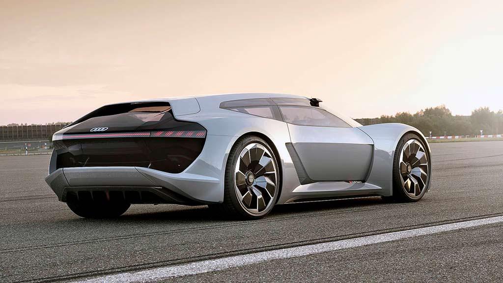 Электро-суперкар Audi PB18 E-Tron