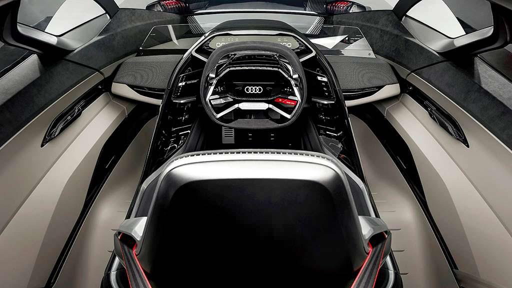 Фото внутри Audi PB18 E-Tron Concept