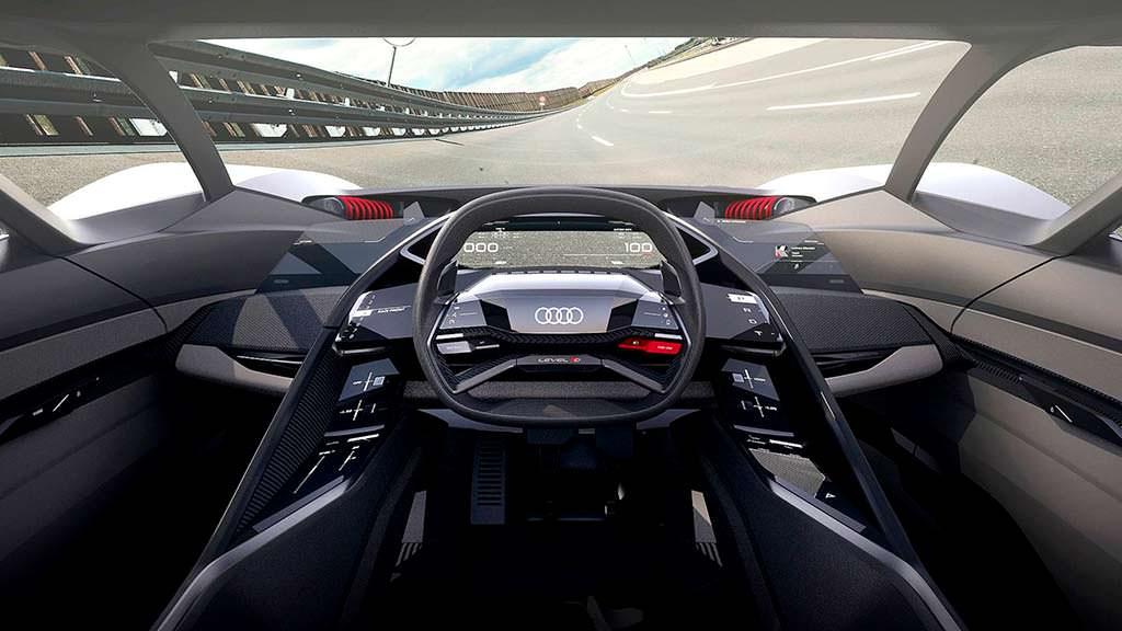 Фото салона Audi PB18 E-Tron Concept