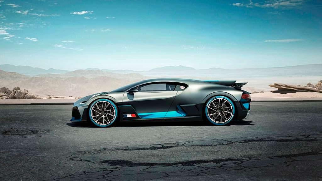 Bugatti Divo на базе Bugatti Chiron