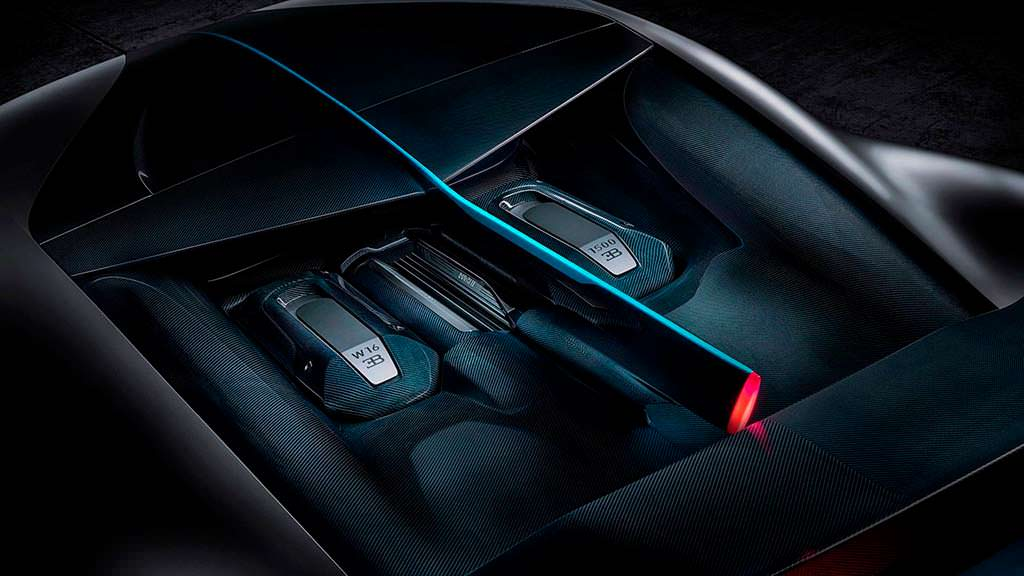 Двигатель W16 Bugatti Divo мощностью 1 500 л.с.