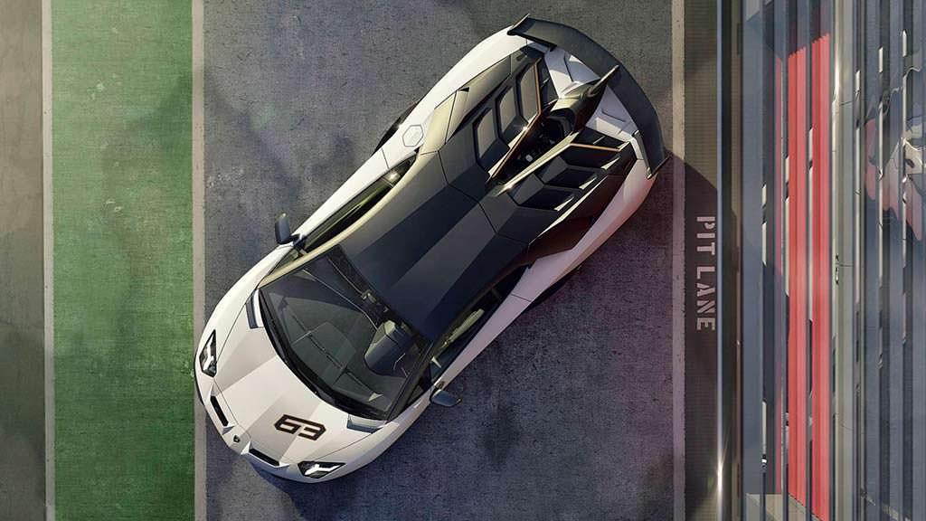 Lamborghini Aventador SVJ 63 в честь 63-летия компании