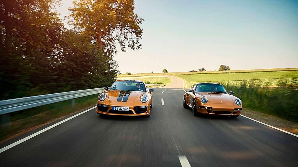 Porsche 993 Project Gold и Porsche 911 Turbo S Exclusive Series