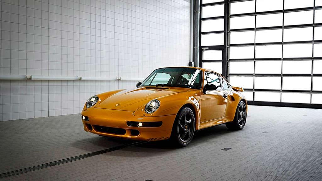 Porsche 993 Project Gold от Porsche Classic