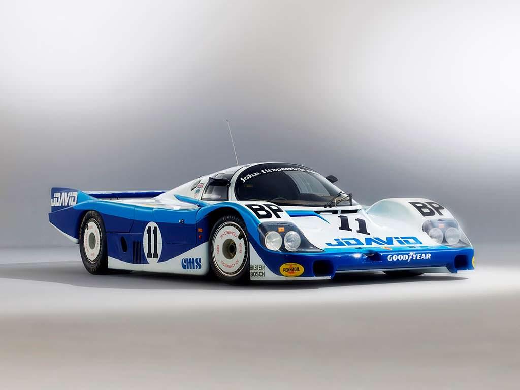 Культовый Porsche 956 начала 1980-х годов