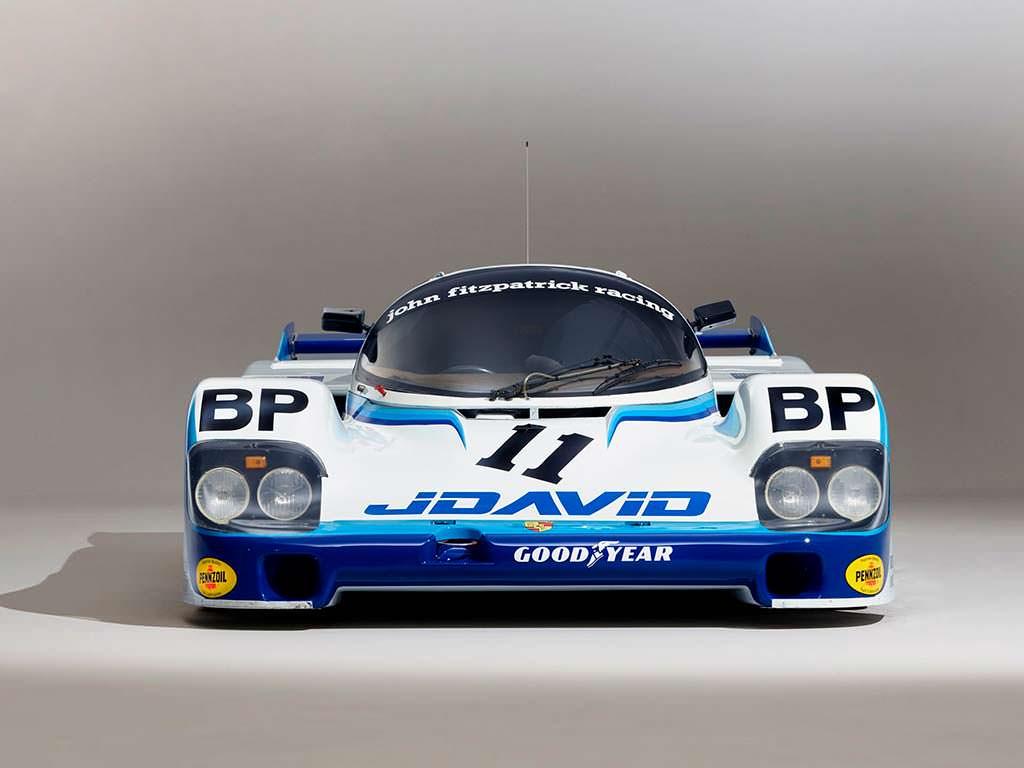 Легендарная Porsche 956