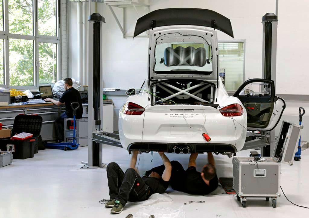 Подготовка для ралли Porsche Cayman GT4 Clubsport Rallye Concept