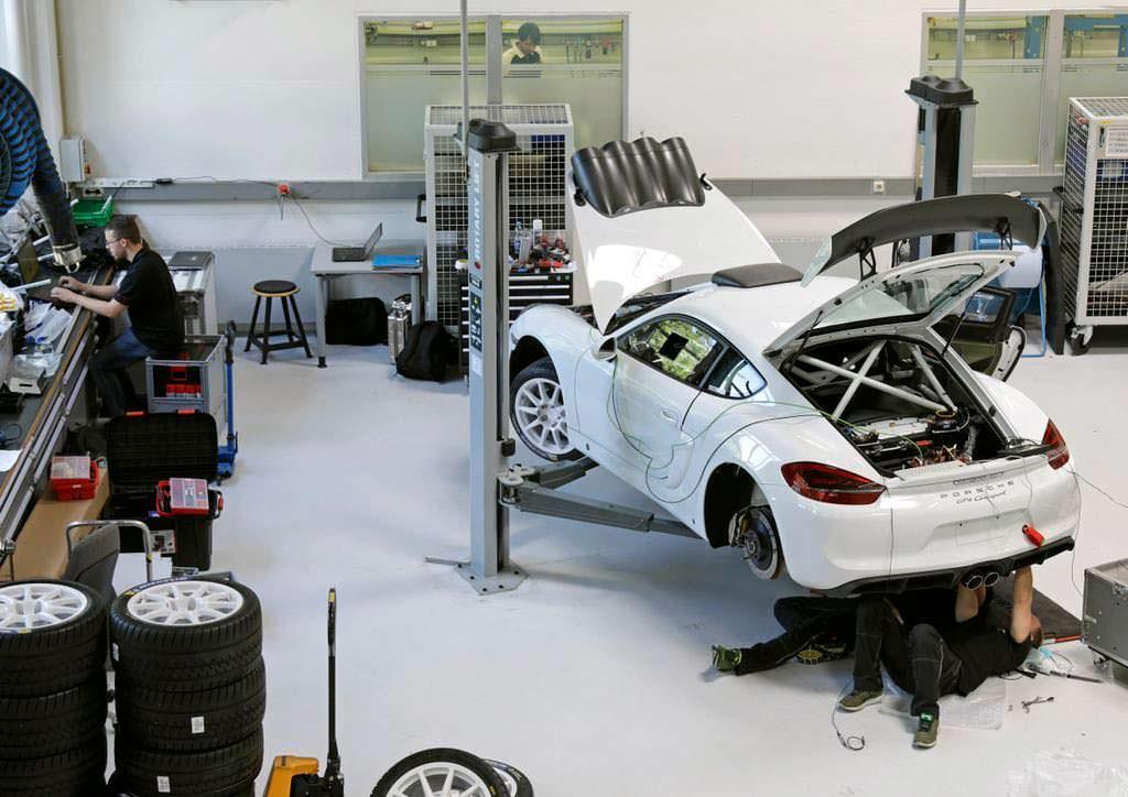 Porsche Cayman GT4 Clubsport Rallye Concept для Rallye Deutschland