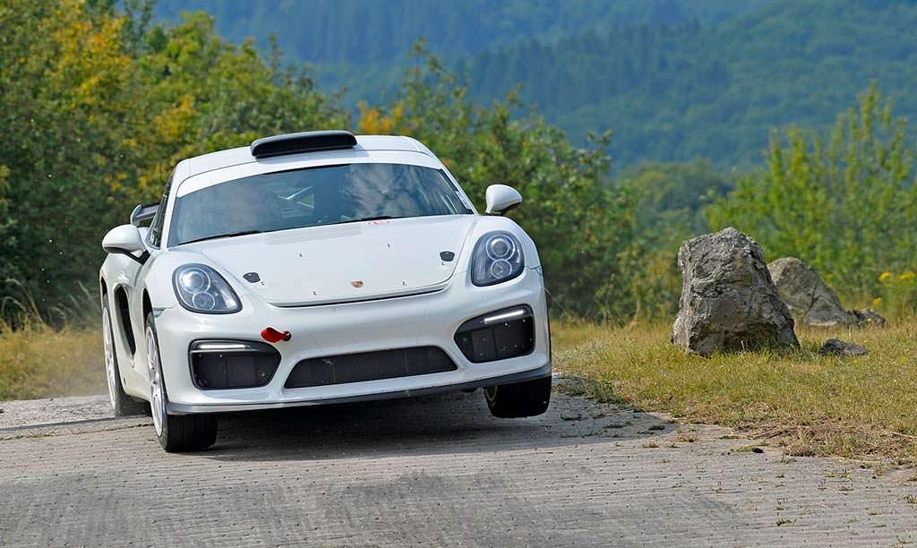 Раллийный болид Porsche Cayman GT4 Clubsport Rallye Concept