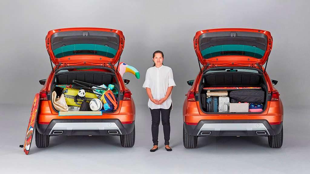 Хаотичная и упорядоченная загрузка багажника