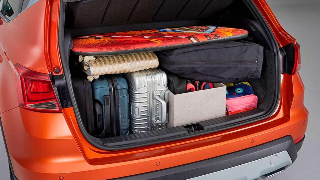 Правильная загрузка багажника SEAT Arona