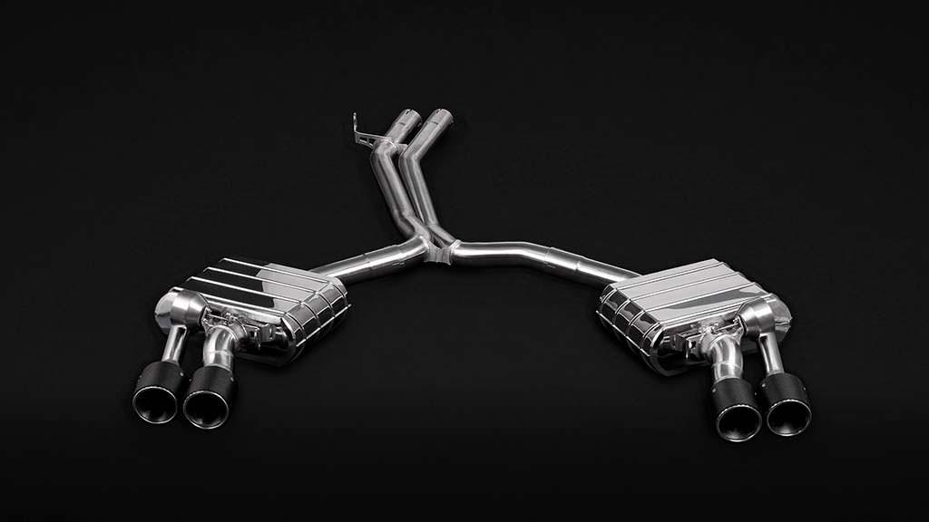 Выхлопная система для Audi RS4 Avant от Wheelsandmore