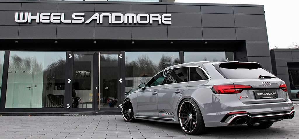 Тюнинг Audi RS4 Avant от Wheelsandmore
