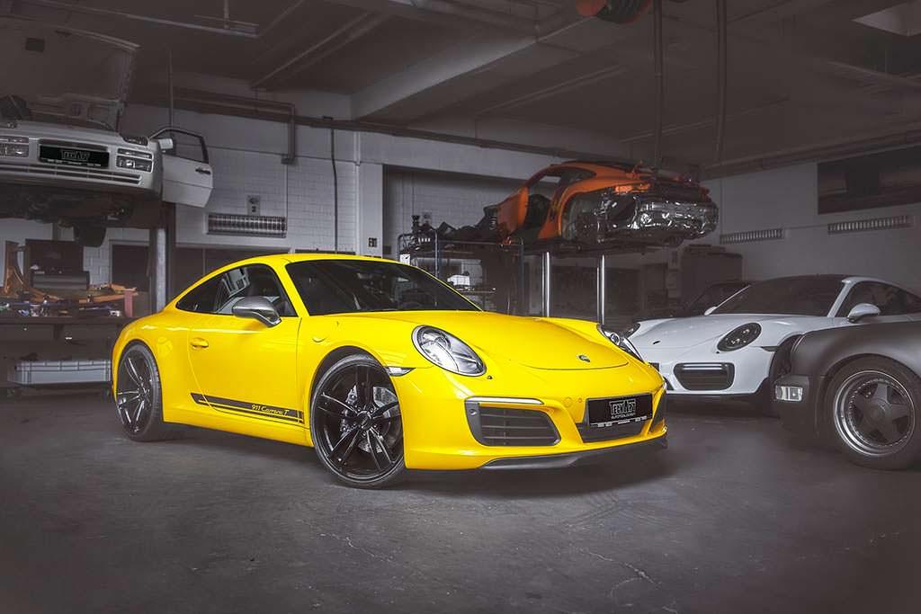 Porsche 911 Carrera T. Тюнинг от TechArt
