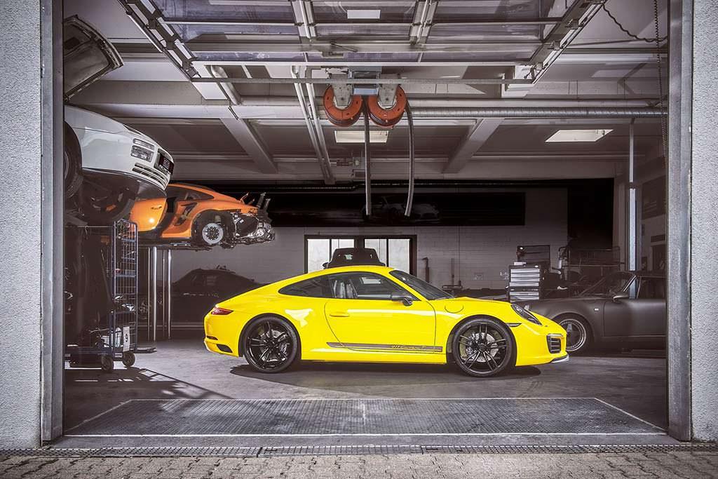 Тюнинг Porsche 911 Carrera T от TechArt